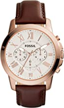 Fossil Analog Silver Dial Men's Watch - FS4991