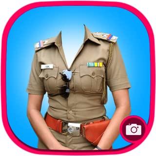 Police Suit Photo Maker(Woman)