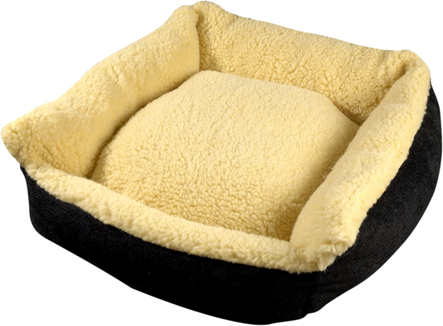 Bronte Glen Senior gold 7 Plus Cosy Pet Bed, Medium, Wheat