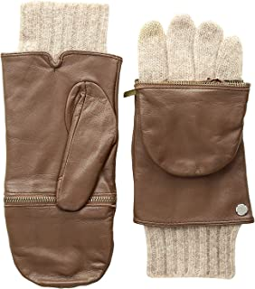 Women's Classic Leather Glitten Glove Cold Weather