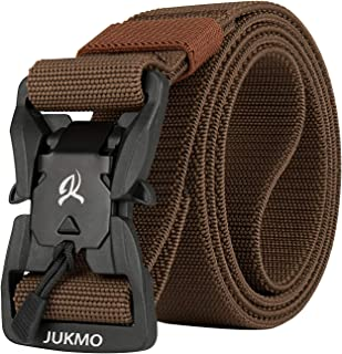 """Tactical Belt, Military Style 1.5"""" Nylon Webbing Belt with Magnetic Quick-Release Buckle"""