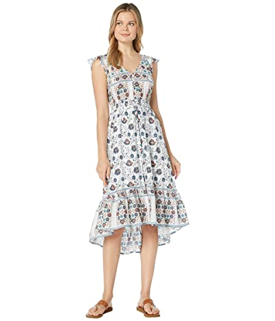 Lucky Brand Printed Felice Dress (Natural Multi) Women