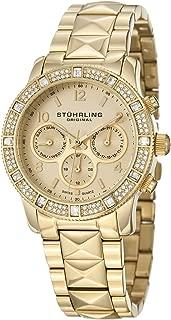 Stuhrling Original Women's 697.02 Lady Nobilis Date Gold