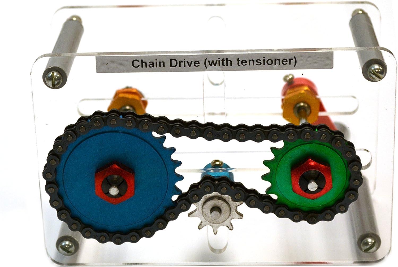 Mechanisches Modell - Kettenantrieb mit Spanner