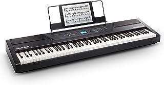 Alesis Recital PRO - Piano Numérique avec Un Clavier de 88 Touches à Mécanique de Marteau, 12 Voix Premium, Enceintes Inté...