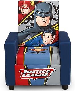 کودکان دلتا صندلی روکش دار پشتی DC Comics League Justice