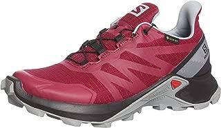Salomon Supercross Gtx W Kadın Spor Ve Outdoor Ayakkabısı, Kırmızı (Bordo 004), 40.5