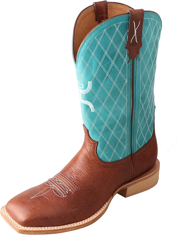 Twisted X Men's Hooey Boot Cognac Turquoise