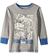 Bone to be Wild Preppy Long Sleeve Tee (Toddler/Little Kids/Big Kids)