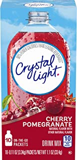 Sponsored Ad - Crystal Light Sugar-Free Cherry Pomegranate Drink Mix (120 On-the-Go Packets, 12 Packs of 10)