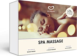 Spa Massage in Manhattan New York Experience Gift Card NYC - GO DREAM - Sent in a Gift Package