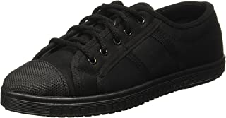 Gliders (From Liberty) Unisex Tennis-E Black Formal Shoes - 6 UK/India (39 EU) (8002156100390)