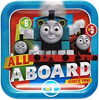 Thomas and Friends Paper Plates