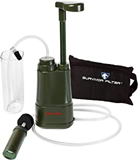 PRO - 0.01 Micron Water Purifier. Comes with Assembled with Internal Filters (Carbon, Membrane), Free Carry Bag, Attachabl...