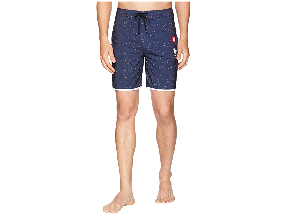 Hurley Phantom France National Team Boardshorts (Obsidian) Men