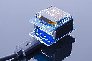 ACROBOTIC WeMos ESP8266 D1 Mini 64×48 Monochrome OLED Display Shield for Arduino NodeMCU Raspberry Pi Wi-Fi IoT