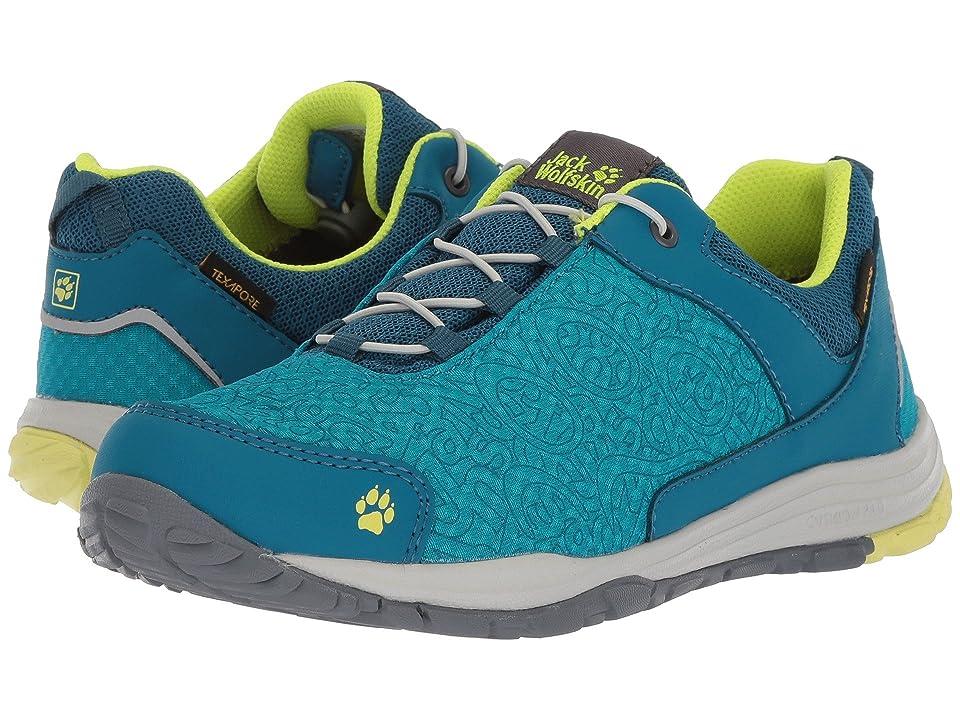 Jack Wolfskin Kids Portland Texapore Low (Toddler/Little Kid/Big Kid) (Glacier Blue) Boys Shoes