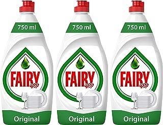 Fairy Original Dishwashing Liquid Soap, 3 x 750 ml