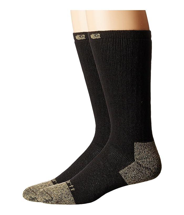 Carhartt Full Cushion Steel Toe Cotton Work Boot Socks 2 Pack