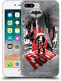 Official Batman: Arkham Knight Red Hood Graphics Soft Gel Case Compatible for iPhone 7 Plus/iPhone 8 Plus