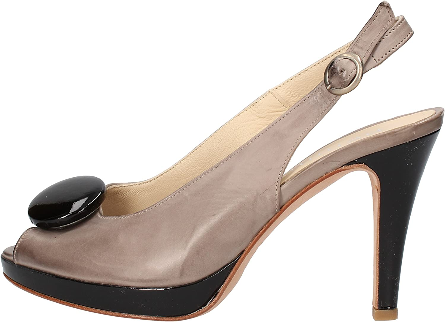 PELLINA Sandals Womens Leather Grey