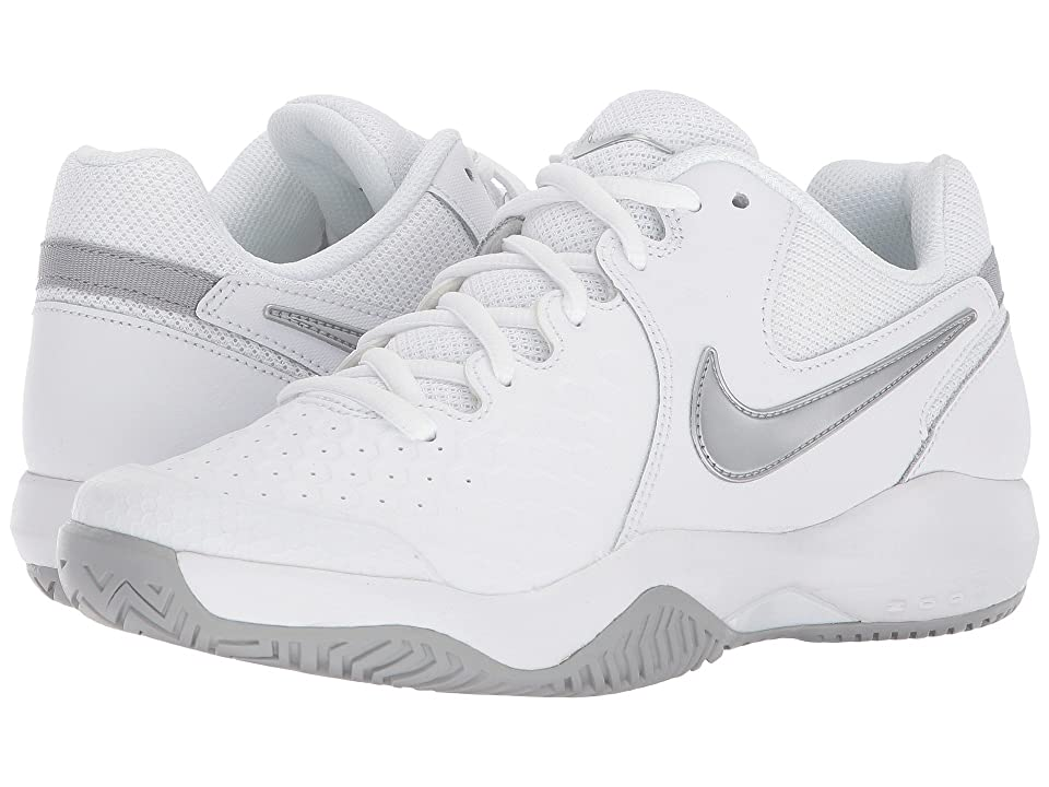 Nike Air Zoom Resistance (White/Metallic Silver/Wolf Grey) Women