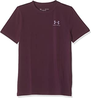 Under Armour Boy's Eu Cotton Short Sleeve T-Shirt