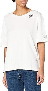 Superdry Women's Super Emb City Tee T-Shirt