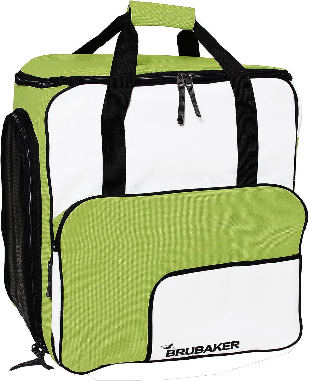 BRUBAKER Ski Boot Bag Backpack Complete Holds New color SuperFUNCTION 2.0 Very popular
