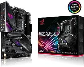 ASUS ROG Strix X570-E Gaming ATX Motherboard with PCIe 4.0, Aura Sync RGB Lighting, 2.5 Gbps and Intel Gigabit LAN, WiFi 6 (802.11Ax), Dual M.2 with Heatsinks, SATA 6GB/S and USB 3.2 Gen 2