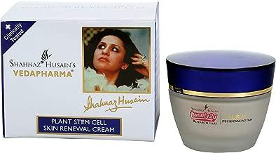 Shahnaz Husain Vedapharma Plant Stem Herbal Ayurvedic Cell Skin Renewal Cream Latest International Packaging (1.8 oz / 50 g)