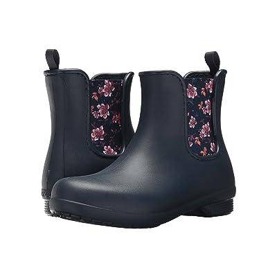 Crocs Freesail Chelsea Boot (Navy/Floral) Women