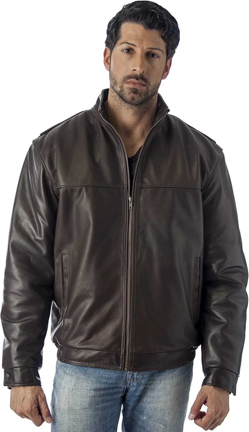 WINNERS LEATHER JACKET UNION MADE IN USA