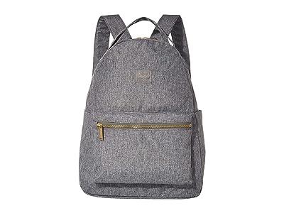 Herschel Supply Co. Nova Mid-Volume Light (Raven Crosshatch) Backpack Bags