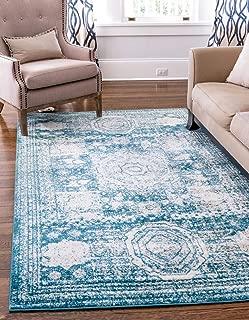 turquoise area rug 8x10