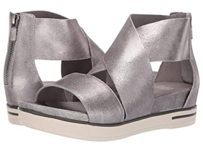 Eileen Fisher Sport (Silver Frozen Metallic Suede) Women