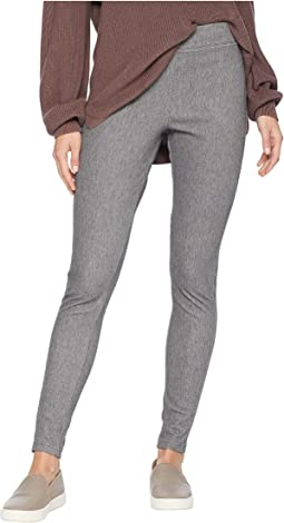High-Waisted Curvy Fit Woolly Leggings