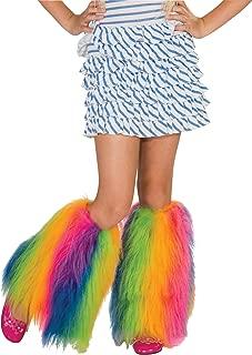 Rainbow Fluffies Leg Warmers