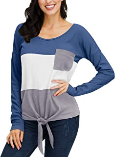 Best v neck waffle sweater Reviews