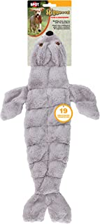 Ethical Pets Skinneeez Tons of Squeakers Seal Dog Toy, 21-Inch