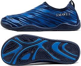 AMAWEI Kids Water Shoes for Boys Girls,Mens Womens Garden Shoes Quick Dry Beach Swim Sports Aqua Shoes for Pool Surfing Walking