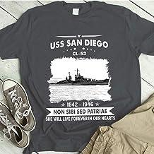 USS San Diego CL 53 Proud Mens US Navy Tee, T-Shirt, Shirt