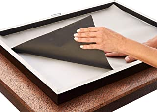 SYB Poster Frame Liner, EMF Radiation Protection, Blocks Wireless Device Radiation for Posters and Picture Frames (18