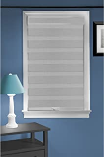 Achim Home Furnishings Cordless Celestial Sheer Double Layered Window Shade, 32