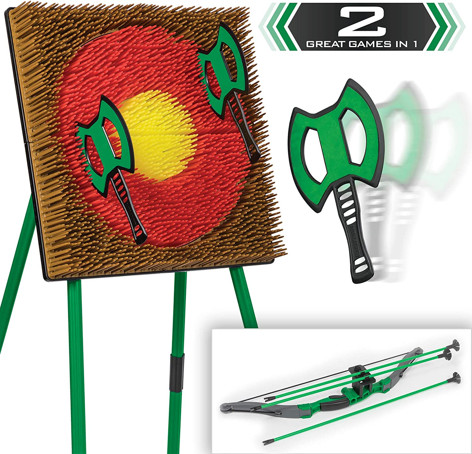 Go Gater Denver Mall OFFicial site EastPoint Sports 2-in-1 Archery S Game Tomahawk Toss
