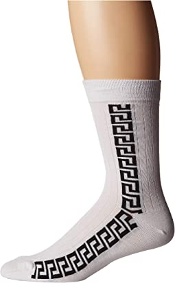 Greca Key Strip Sock