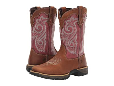 Durango Lady Rebel 10 Western (Briar Brown/Rusty Red) Cowboy Boots