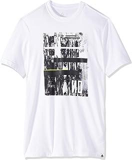 Reebok Mens Graphic Series No To No Crew Sweatshirt