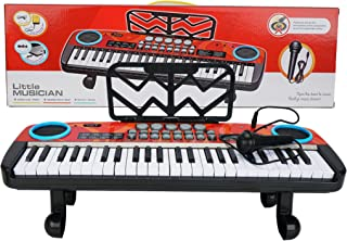Tpouo 49 Keys Toy Multi-Function Electronic Piano for Kids,Kids Piano Musical Instruments Gift Toy As Birthday Children's ...