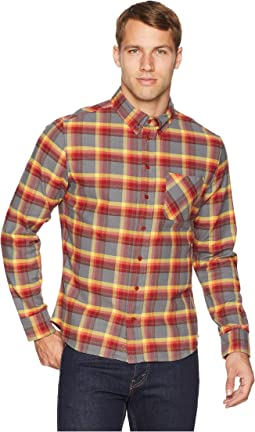 Pitchstone Plaid Button Down